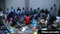 Wasu matasan musulmi da kirista da suka halarci taron bude baki a Sokoto