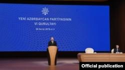 Yeni Azərbaycan Partiyası qurultay keçirir