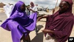 Des femmes nigérianes, Maiduguri, 7 aout 2013