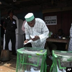 Nigerians cast their ballots for president on Saturday