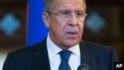 Ministan Harkokin Wajen Rasha Sergey Lavrov
