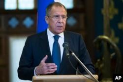 俄罗斯外长拉夫罗夫(2015年11月4日)