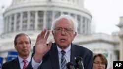 Le sénateur Bernie Sanders (AP)