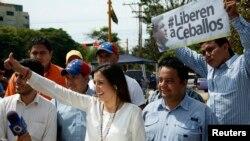 Patricia de Ceballos, denunció los castigos a los que someten a su esposo,el exalcalde depuesto, Daniel Ceballos.