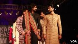کراچی: مردوں کے نت نئے فیشن
