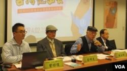台湾公民团体将持续推动台湾加入世界卫生组织 (美国之音张永泰拍摄)