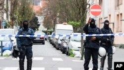 Specijalne policijske snage u Briselu