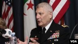 Panglima operasi militer Amerika di Afrika, Jendral Carter Ham (foto:dok).