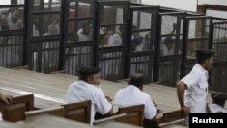 جریان محاکمهٔ اعضای اخوان المسلمین