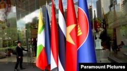 泰國為曼谷舉行的34屆東盟峰會做準備。(2019年6月19日)