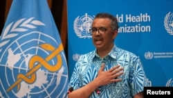 Tedros Adhanom Ghebreyesus, Director General of the World Health Organization (WHO).