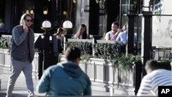 Suasana santai di luar sebuah restoran di Christchurch, Selandia Baru, 8 Juni 2020. (Foto: dok).