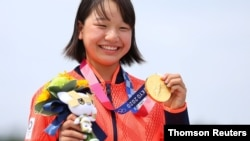 일본 역대 최연소 금메달리스트 니시야 모미지 선수