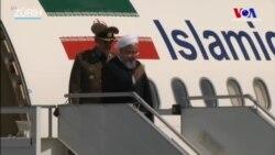 İran Cumhurbaşkanı İsviçre'de