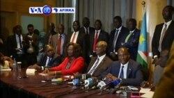 VOA60 AFIRKA: SOUTH SUDAN Sabon Mataimakin Shugaban Kasar, Taban Den Gai Na Shirin Hade Dakarun Gwamnti da na 'Yan Tawaye