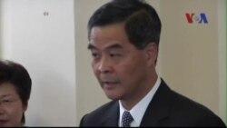 Trưởng quan hành chính Hồng Kông muốn nối lại đàm phán với người biểu tình