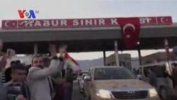 پیشمرگههای کرد عراق وارد ترکیه شدند