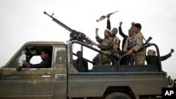 Çekdarên Husîyan, Sana Yemen (Arşîv)