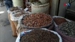نئی دہلی کی لکشمی نارائن حویلی میں سجی 'مسالہ مارکیٹ'