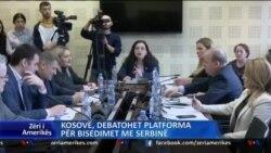 Kosovë, debatohet platforma për bisedime me Serbinë