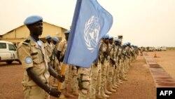 Para anggota pasukan penjaga perdamaian PBB di Mali atau MINUSMA (The United Nations Multidimensional Integrated Stabilization Mission in Mali) (foto: ilustrasi).