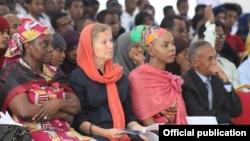 Wani Bangare Na Mahalarta Baje Kolin Littafan Adabi Na Hargeisa International Book Fair a Kasar Somalia