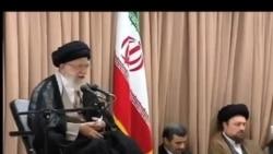 مخالفت ضمنی خامنه ای با شعارهای «اعتدال» روحانی در سیاست خارجی