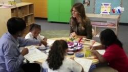 Primeira-dama americana, Melania Trump, na sua primeira viagem a África