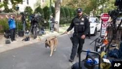 美國特勤局在奧巴馬的住所附近搜查