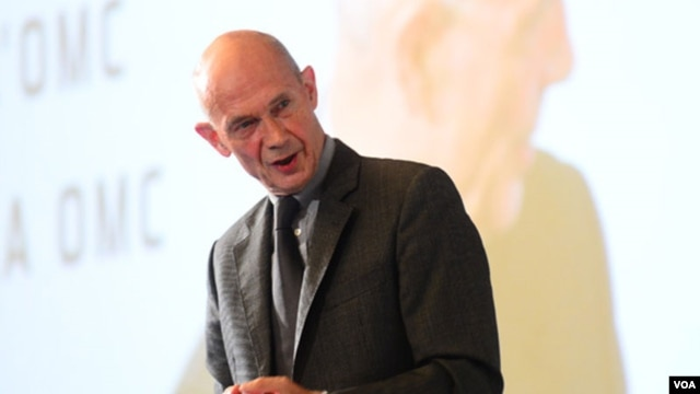 WTO Director-General Pascal Lamy at 2012 Public Forum in Geneva. (WTO)