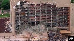 1995-yil Oklaxoma-Siti shahrida ro'y bergan portlashda 168 odam o'lib, 680 kishi yaralangan.