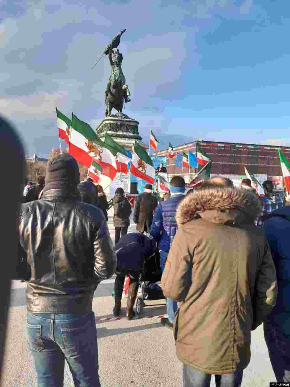 تجمع ایرانیان در وین اتریش - شنبه ۲۳ نوامبر