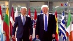 Trump'ın Brüksel'deki İkili Görüşmeleri