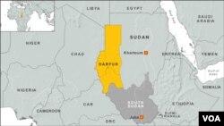수단 다르푸르 지역.