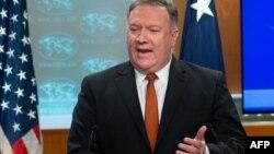 마이크 폼페오 미국 국무장관.