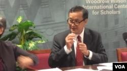 柬埔寨反对党领袖桑兰西 (资料图片)