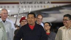 چاوز به ونزوئلا بازگشت