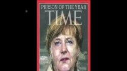 德國總理默克爾被時代週刊選為年度人物