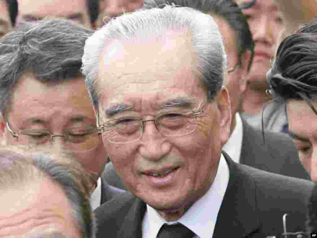 Kim Ki Nam is Secretary of the Korean Workers' Party and a veteran of relations with South Korea. (AP)