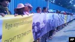 The Dey Krahorm event was a harbinger of evictions to come, with residents from the the neighborhoods of Boeung Kak lake and Borei Keila the most prominent among scores of forced moves.