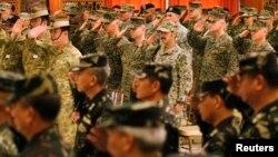 Las maniobras pondrán a prueba la disposición combativa de Filipinas y EE.UU.