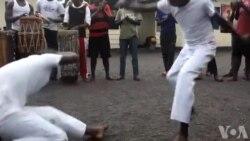 Capoeira pour la Paix en RDC