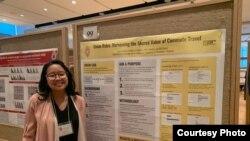 Agalia Ardyasa, mahasiswi Indonesia di University of Wisconsin-Madison (dok: Agalia Ardyasa)