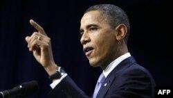 Президент Обама. Вашингтон. 22 декабря 2010 года