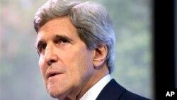 John Kerry concedió una entrevista a la cadena de televisión estadounidense MSNBC.
