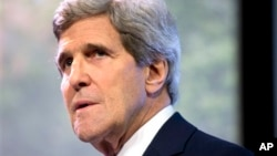 FILE - U.S.Secretary of State John Kerry