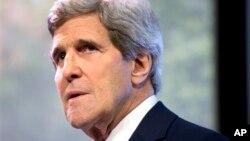 FILE - U.S.Secretary of State John Kerry