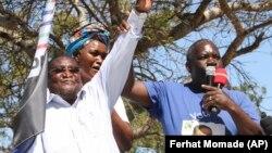 Líder da Renamo, Ossufo Momade, em campanha eleitoral para as eleições de 15 de Outubro em Moçambique