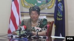 利比里亞總統約翰遜瑟利夫