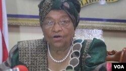 Shugabar Liberia Ellen Sirleaf